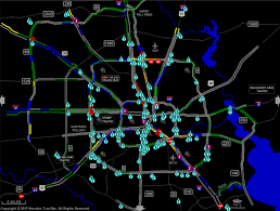 Houston Transtar Traffic Map Road Closures Due To High Water In Houston Sunday U2013 Houston