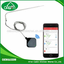 android thermometer smart bluetooth wireless bbq cooking grill thermometer bluetooth