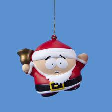 south park santa cartman ornament