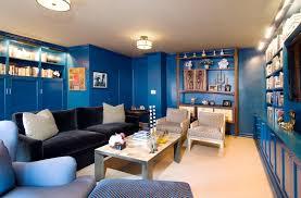 charming white dark brown wood modern design furniture wall paint