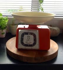 Vintage Kitchen Scales Op Shop Finds Can I Weigh Something For You This Mum Rocks
