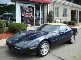 1989 corvette convertible 1989 blue metallic chevrolet corvette convertible 16474259