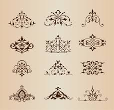 vintage ornament free vector 14 307 free vector for