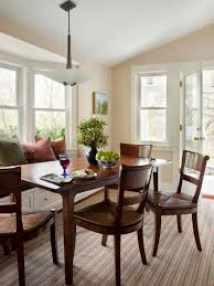 Casual Dining Room Lighting by Photos Hgtv Casual Dining Room With Window Seat Loversiq