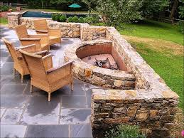 exteriors awesome stone fire pit ideas build a fire pit cheap