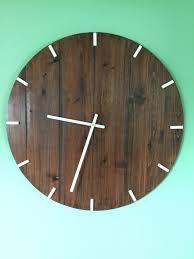 large rustic wall clock extra large wall clock indoor wall clock