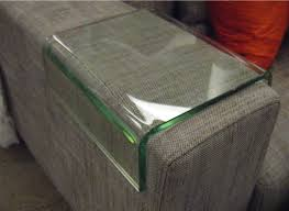 rome sofa armrests clear glass end tables occasional sunshine