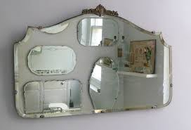 Vintage Bathroom Mirror How To Hang A Display Of Vintage Mirrors Decorator S Notebook