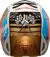 motocross fox helmets 299 95 fox racing mens v2 nirv dot approved motocross mx 995653