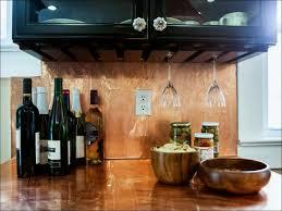faux kitchen backsplash kitchen room magnificent copper backsplash faux copper