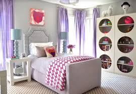 Purple Bedroom Curtains Bedrooms Eclectic Bedroom With Purple Curtain Curtain Designs