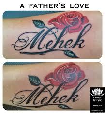 rose u0026 script u2013 tattoo temple