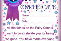 free tooth fairy certificate template professional samples templates