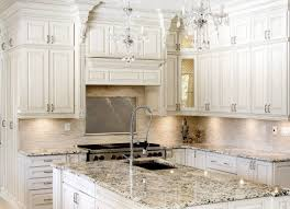 kitchen white cabinet with black countertop thermofoil kitchen