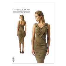 vogue dress 1342 the fold line