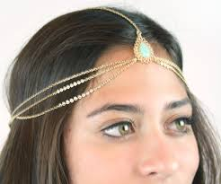 chain headpiece chain headpiece chain headdress chain by lovmely on etsy