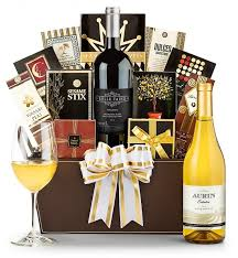 wine basket in appreciation wine gift basket gifttree