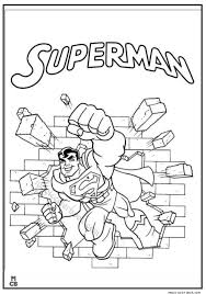 superman coloring pages printable 23