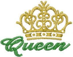 crown embroidery design annthegran