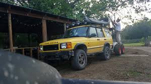 land rover discovery safari landrover discovery 2 kalahari taking off safari roof rack