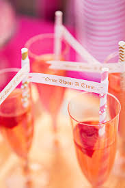 Pink Cocktails For Baby Shower - ready to pop