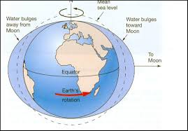 tides and the pull of the moon and sun earth earthsky