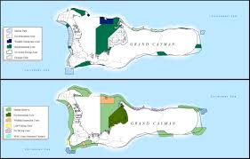 Map Of Cayman Islands Marine Parks Port Authority Of The Cayman Islands