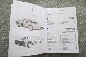 ferrari manuals owner and service manuals for your classic