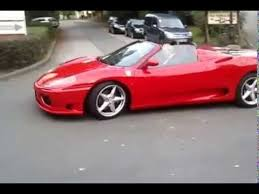 360 modena top speed 360 spider top speed test drive and exhaust sound
