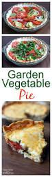 garden vegetable pie recipe vegetable pie zucchini squash and