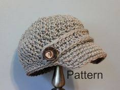 free pattern newsboy cap newsboy crochet hat wooden buttons products
