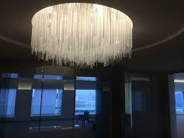 lustre bureau lustre sur mesure pour le salle de réunion attenante au bureau du