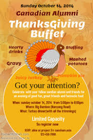 customizable design templates for thanksgiving poster postermywall