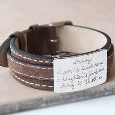 leather bracelet with sterling silver images Buy personalised engraved leather bracelets for men online jpg