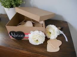 Wedding Wishes Guest Book Best 25 Wedding Advice Box Ideas On Pinterest Advice Box