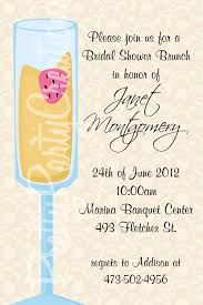 chagne brunch bridal shower invitations bridal shower brunch invitations kawaiitheo