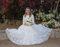 modest wedding dress modest wedding dress etsy