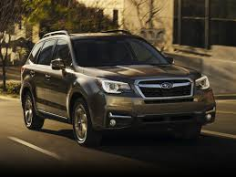subaru forester 2017 interior new 2018 subaru forester price photos reviews safety ratings