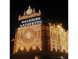 lights displays at department stores