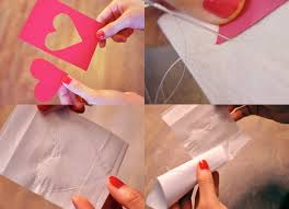 heart shaped tea bags imajination diy heart shaped tea bag
