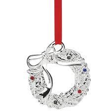 2016 jeweled wreath ornament lenox ornaments