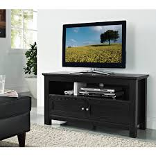 Tv Stands For Flat Screens Walmart Walker Edison Tv Stand For Tvs Up To 48