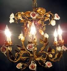 porcelain chandelier roses lighting fixtures chandeliers desk ls