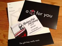 dining gift cards gift cards rookery pub dining