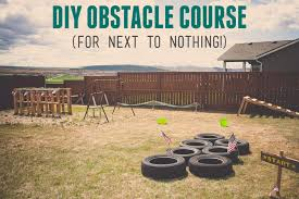 Backyard Obstacle Course Ideas Boy U0027s Army Birthday Party Diy Army Obstacle Course For Cheap