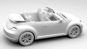 new volkswagen beetle 2017 vw beetle cabriolet 2017 by creator 3d 3docean