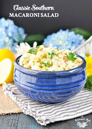 classic southern macaroni salad a video the seasoned mom