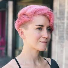female short hair undercut 24 chic highlights for short hair pastel hair colors for 2018