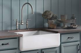 bridge style kitchen faucet sinks stunning farm style faucets faucet for farmhouse sink