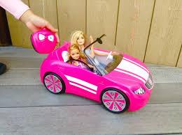 barbie convertible barbie rc convertible malibu avenue youtube